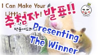 Presenting the Winner