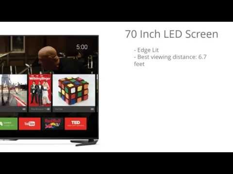 Sharp LC-70UE30U 70-Inch 4K Ultra HD LED TV Review