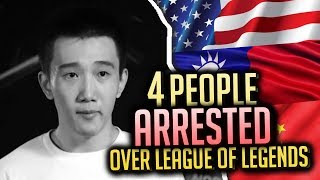 Video 4 People ARRESTED Over Playing League of Legends MP3, 3GP, MP4, WEBM, AVI, FLV Juni 2018