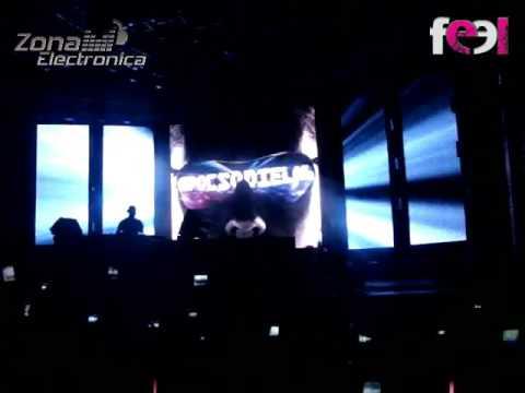 Concierto de DJ Tiesto en el Metropolitano Ciudad de Itagüí
