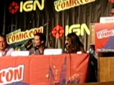 Nikita Panel At NY Comic Con 2011