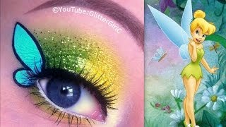 Disney's TinkerBell Makeup Tutorial - YouTube