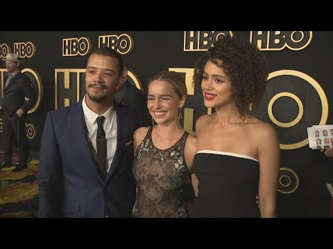 Emilia Clarke Reacts to Filming Final Game of Thrones Scenes (Exclusive)