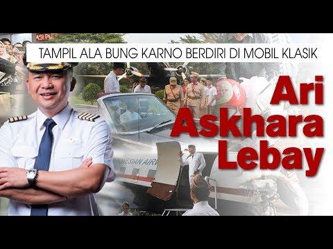 Ari Askhara Lebay, Tampil ala Bung Karno Berdiri di Mobil Klasik