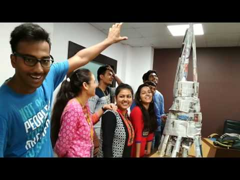 Video Best team building activity- newspaper tower building by Engineering students download in MP3, 3GP, MP4, WEBM, AVI, FLV January 2017