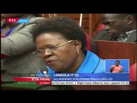 KTN Prime: Isaac Lenaola set to replace Justice Philip Tunoi as Supreme court judge, 25th October 20
