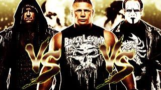 WWE 2K16: Sting VS The Undertaker VS Brock Lesnar [FR//HD] full download video download mp3 download music download