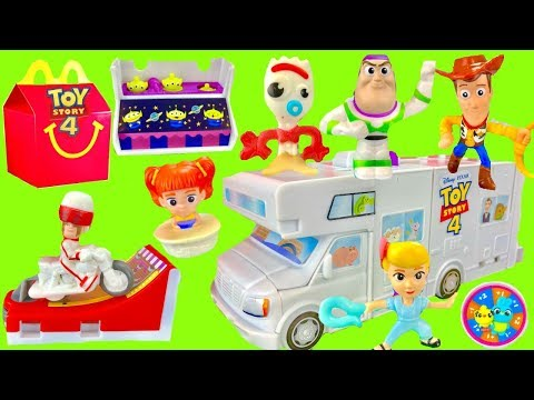 Toy Story 4 Full Set of 2019 McDonald's Happy Meal