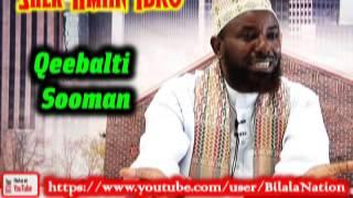 Qeebalti Sooman By Shek Amiin Ibro