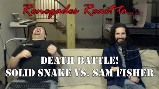 Renegades React to... Death Battle! Solid Snake vs. Sam Fisher