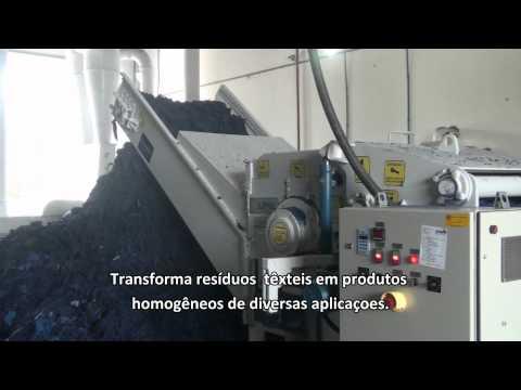 Triturador de tecidos Lippel PTP 200x1000