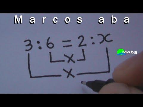 Proporção - Matemática