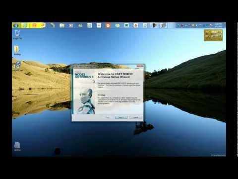 comment installer eset nod32 antivirus