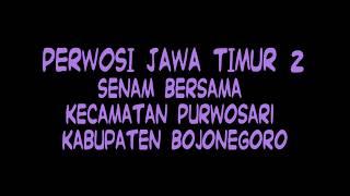 Senam Perwosi Kecamatan Purwosari - Bojonegoro 2017 - Part 2 : Senam Perwosi Jawa Timur 2