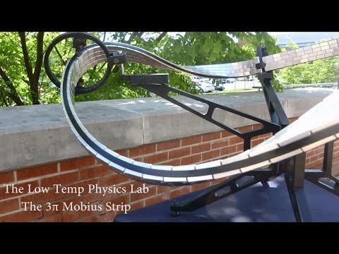 This Superconducting Quantum Levitation Möbius Strip Race Track Will Blow Your Mind