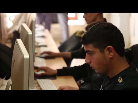 تقرير شبكة الجزيرة عن مدرسة دار الأيتام الإسلامية الصناعية بالقدس