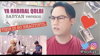 Video YA HABIBAL QOLBI - SABYAN version | REACTION MP3, 3GP, MP4, WEBM, AVI, FLV Agustus 2018