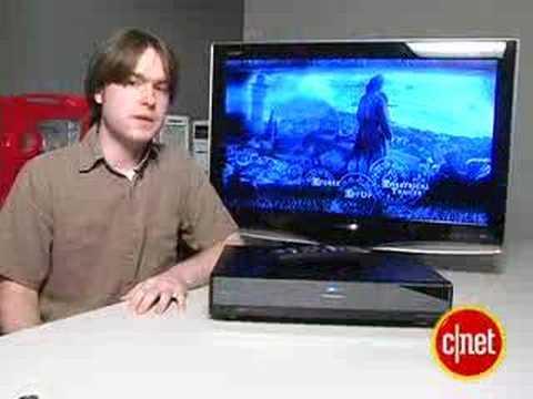 Panasonic DMP-BD10A Blu Ray Player