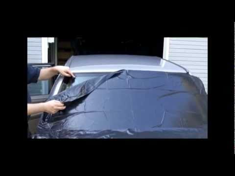 window tint removal part 1