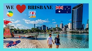 Brisbane Australia  city photo : Spectacular Streets Beach and South Bank Parklands, BRISBANE (AUSTRALIA)