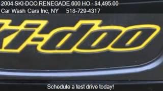 7. 2004 SKI-DOO RENEGADE 600 HO MXZ - for sale in Glenmont, NY