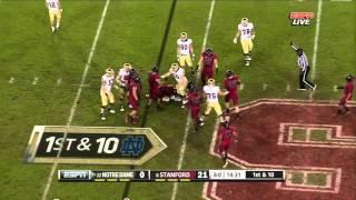 Tyler Eifert vs Stanford (2011)