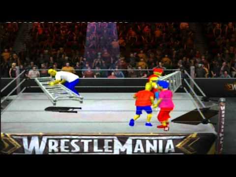 The Simpsons TLC SvR 2011