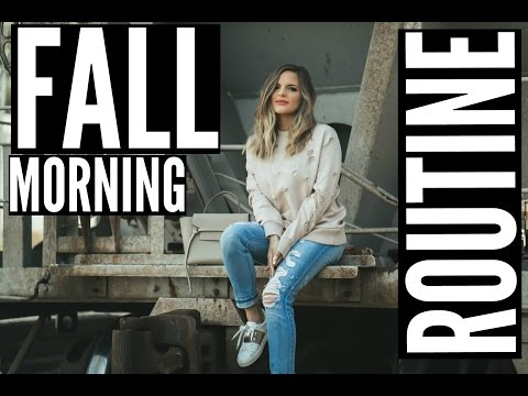 FALL MORNING ROUTINE 2016 | Casey Holmes