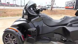 6. 000350   2016 Can Am Spyder RT S   SE6 Special - Used motorcycles for sale