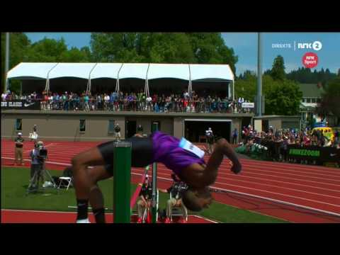 2.41 Mutaz Essa Barshim Diamond league EUGENE  2015