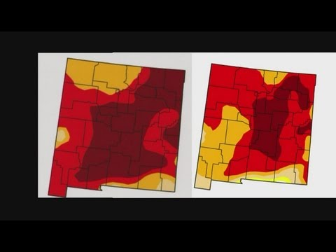 Drought conditions in NM improve