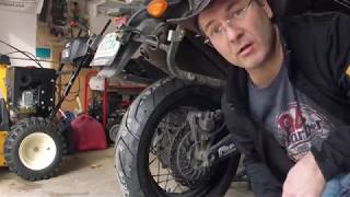 8. Yamaha Super Tenere New Rear Tire and a Visit to National Powersports Distributors
