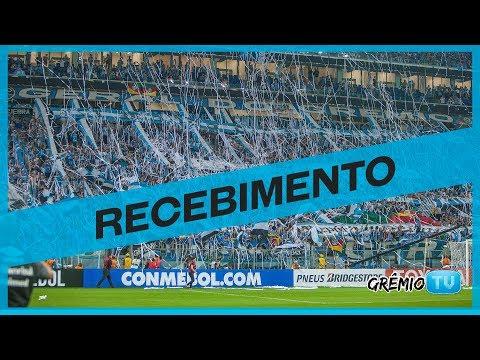 Sensacional recebimento da torcida Tricolor l GrêmioTV - Geral do Grêmio - Grêmio