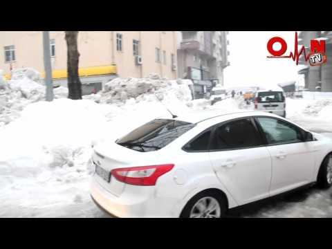 Of'tan Kar Manzaraları 4 Ocak 2016 Pazartesi