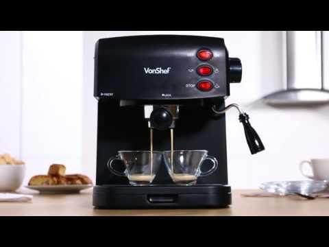 VonShef 15 Bar Espresso Maker