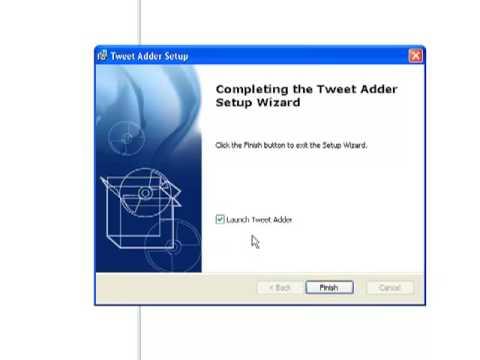 comment installer twitter