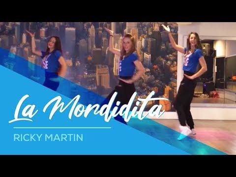 """la zumba con ricky martin - """"la mordidita"""""""