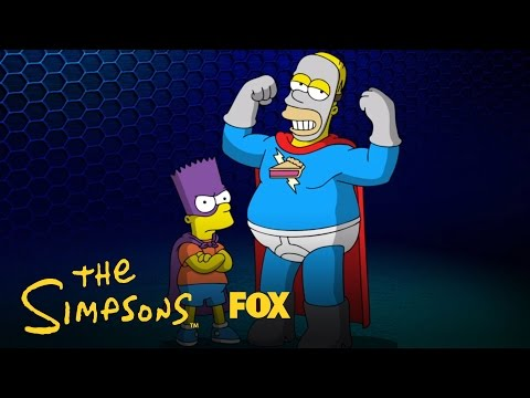 The Simpsons Season 28 (Teaser 'Superheroes 2')