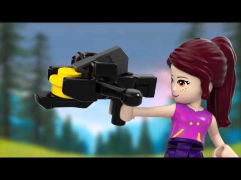 Конструктор Спортивный лагерь: стрельба из лука - LEGO FRIENDS - фото № 7