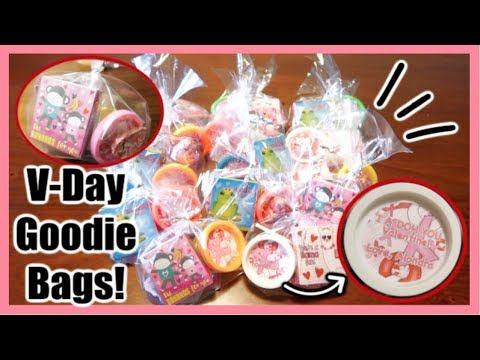 Play Doh Valentine's Goodie Bags!  February 7, 2019