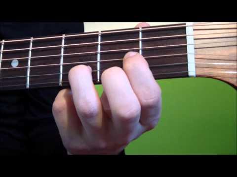 D Dur - Weitere Gitarrenakkorde und Griffbilder finden Sie auf: http://www.onlinegitarrengriffe.de Dieses Video ist eine optimale Einführung für Gitarrenanfänger, di...