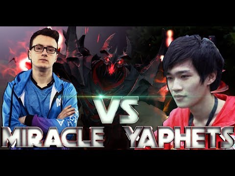 MIRACLE vs YAPHETS - BEST SHADOW FIEND BATTLE IN DOTA 2