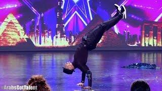 O sku*wesyn! Tak się tańczy w arabskim Mam Talent!