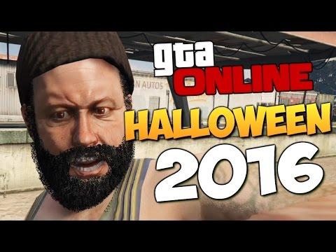 GTA ONLINE - HALLOWEEN 2016 (УГАР) #292