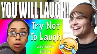 Video Try Not To Laugh With Liza Koshy (99% FAIL!) REACTION MP3, 3GP, MP4, WEBM, AVI, FLV September 2018