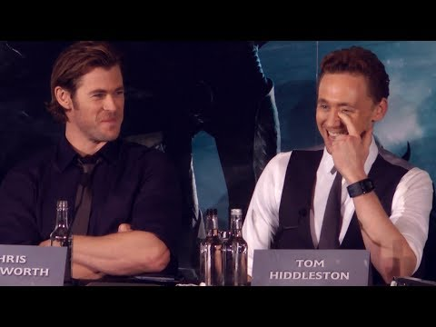 loki - Chris Hemsworth & Tom Hiddleston chat about Thor & Loki bromances, brotherly love, why Loki is more popular than Thor, how they always act in opposition to e...
