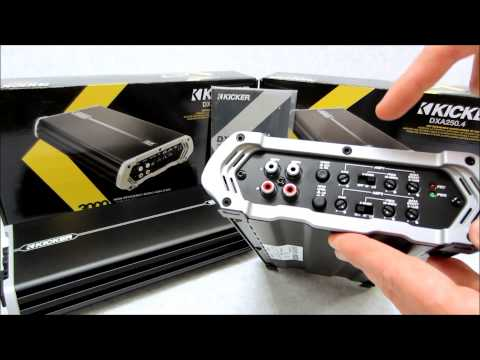 Kicker DX Amplifier Review on DXA1500 1 and DXA250 4 models