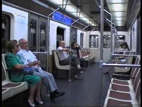 Metro (U-Bahn) in Madrid - Impressionen