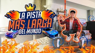 Video HICE LA PISTA MAS LARGA DEL MUNDO // Mario Ruiz MP3, 3GP, MP4, WEBM, AVI, FLV Maret 2019