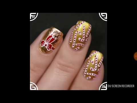 Feliz añoooooo! 21&  Diseños de uñas para el 2018